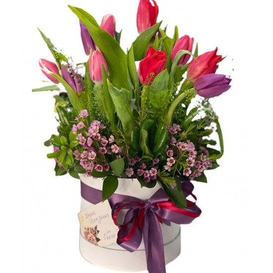 Box of Tulips and Wax
