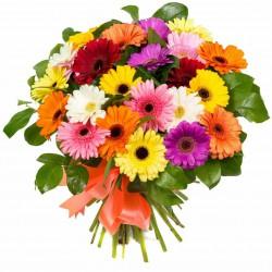 Bouquet of Gerberas and Greens
