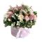 Box of Roses, Spray Roses, Alstroemeria, Wax, Green
