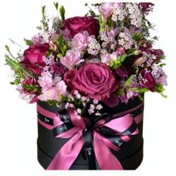 Box of Roses, Wax, Fresia