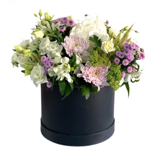 Mix Bouquet of Roses, Eustoma, Chrysanthemums & Alstroemeria