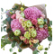 Bouquet of Hydrangeas, Roses and Spray Roses