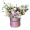 Box of Eustoma, Alstroemerias and Roses