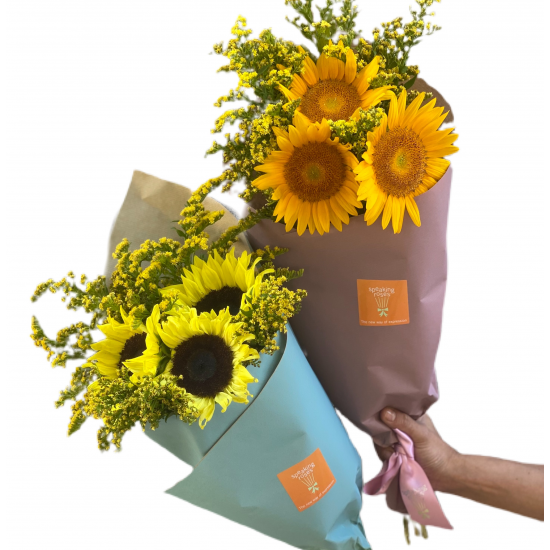 Bouquet of Sunflowers 3 pieces