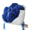 Bouquet of 5 Hydrangeas Blue