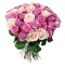 35 Mixed Coloured Roses