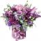 Box of Hydrangea, Roses, Eustoma and Alstroemerias