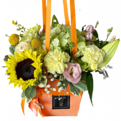 Bag of Sunflower and Mix Flowers